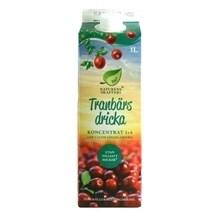 tranbärsjuice utan socker