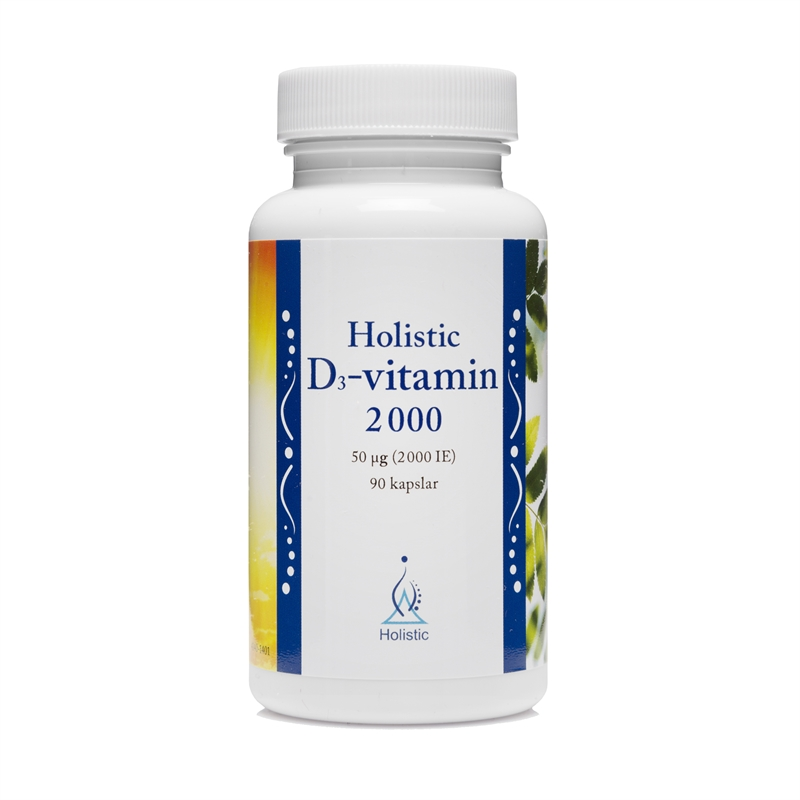 D3-vitamin 2000IE 90 kapslar