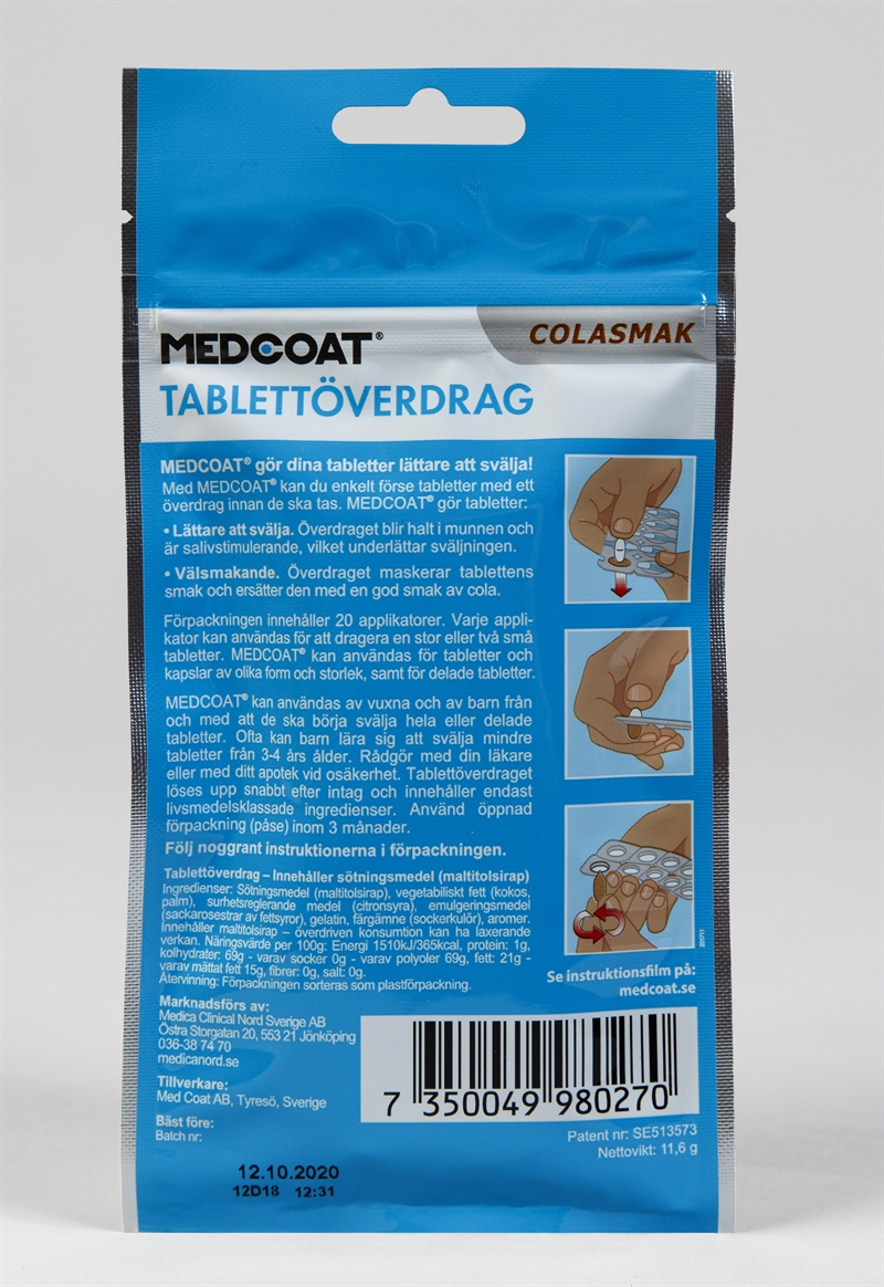 00215d19 Köp Medcoat Medcoat Cola 20st applikatorer hos Hälsokraft