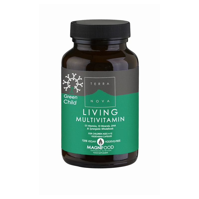 Green Child Living Multivitamin 100 kapslar