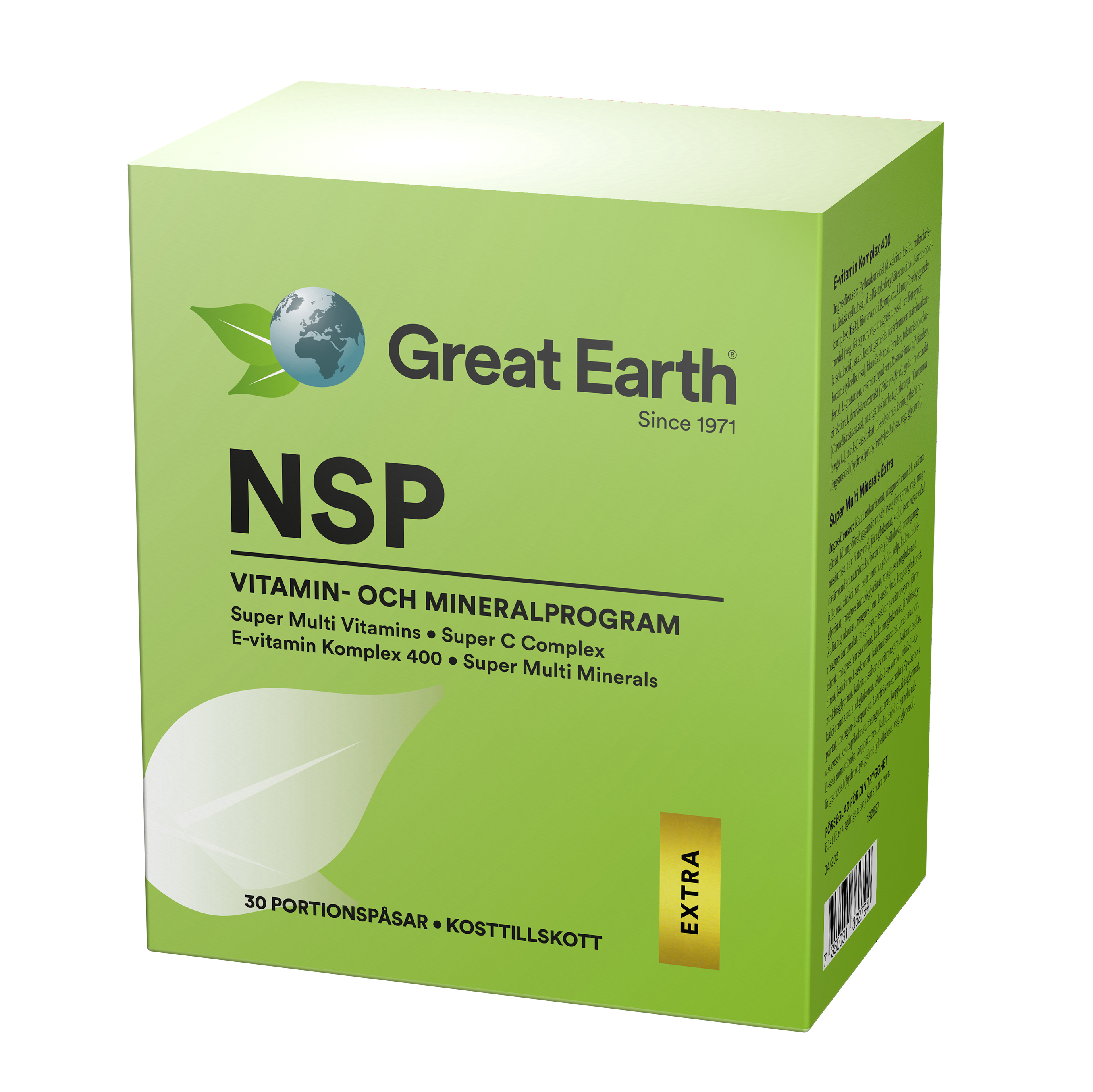 great earth nsp