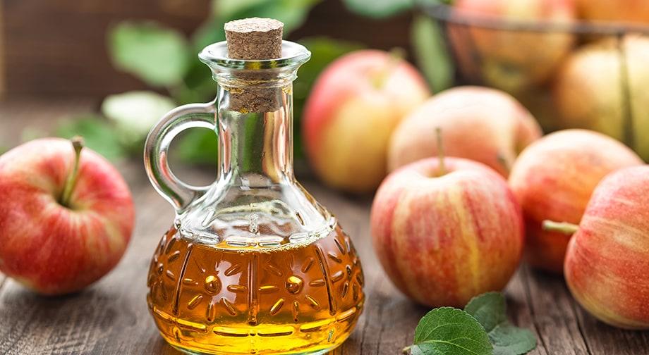 hur mycket äppelcidervinäger per dag