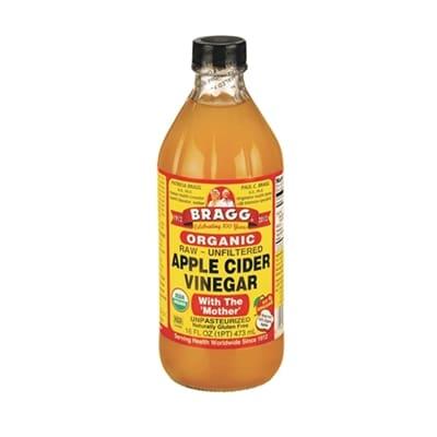 äppelcidervinäger och honung