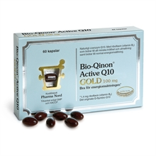 Bio-qinon Active Q10 Gold 100mg 60 kapslar